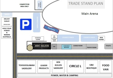 Trade Stand map