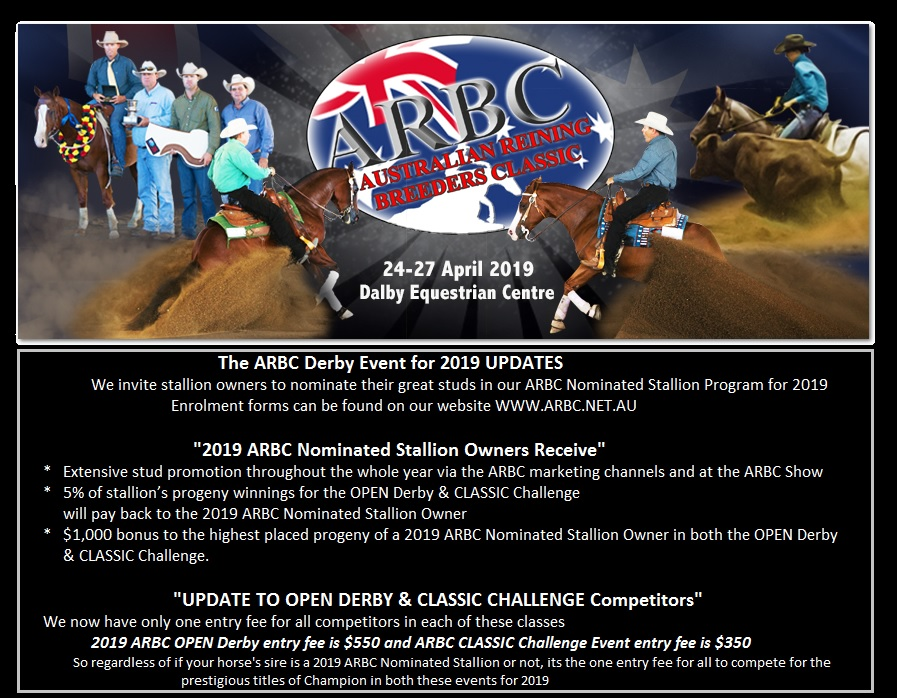 arbc derby and classic updates