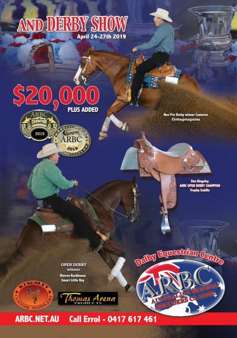 arbc reining derby flyer